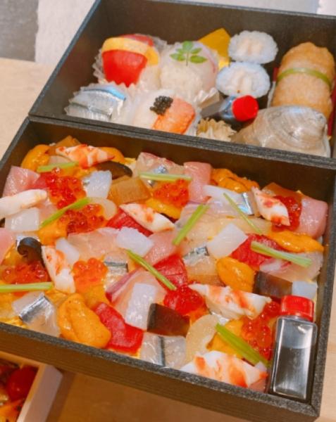 桃の節句~てまり、ちらし寿司~